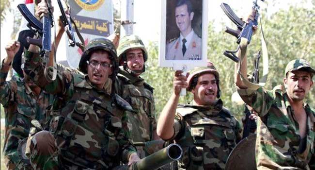 Esed'e bağlı birlikler Afrin'de