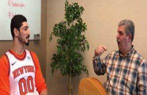 Babacanlar'da Bekir Salim ile ünlü Basketbolcu Enes Kanter'in atışması...