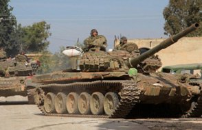 'Suriye hükümet güçleri, topçu atışlarına rağmen Afrin'e girdi'