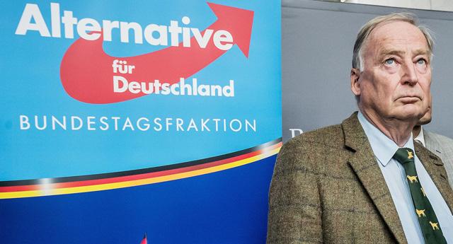Almanya'da aşırı sağcı parti AFD ilk kez SPD'yi geçti