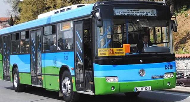 İBB'den özel halk otobüsçülerine yüzde yüz zam