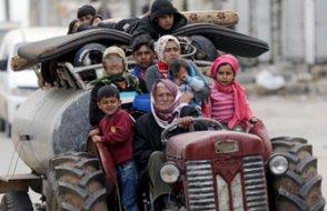 Afrin'den 150 bin sivil kaçtı