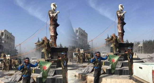 TSK'den Demirci Kawa heykeli açıklaması