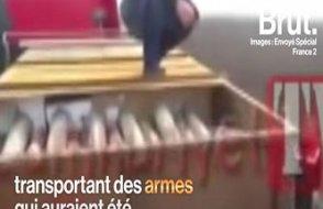 Suriye'ye yasadışı silah taşıyan tırlar Fransız basınında!