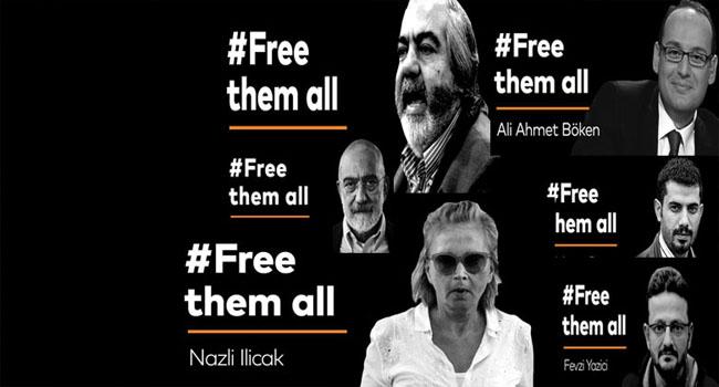 Alman Die Welt Gazetesi Türkiye'de tutuklu gazeteciler için kampanya başlattı