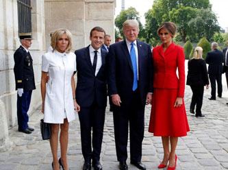 Macron Un Esinden Trump Un Esine Ilginc Sozler