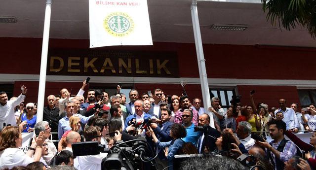 İnce'nin ziyaret ettiği dekan aynı gün Erdoğan tarafından görevden alındı