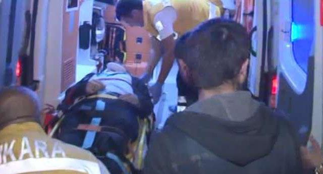 Ankara'da MHP'lile bu sefer Saadet Partililere saldırdı yaralılar var...