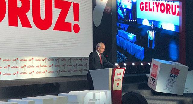 CHP seçim bildirgesini açıkladı: Beş temel sorunu çözeceğiz