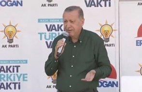 Erdoğan: Bana üniversite mezunu değil bile dediler