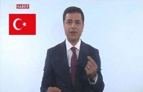 Demirtaş'ın TRT konuşması: Yakında yüz yüze görüşeceğimize inanıyorum