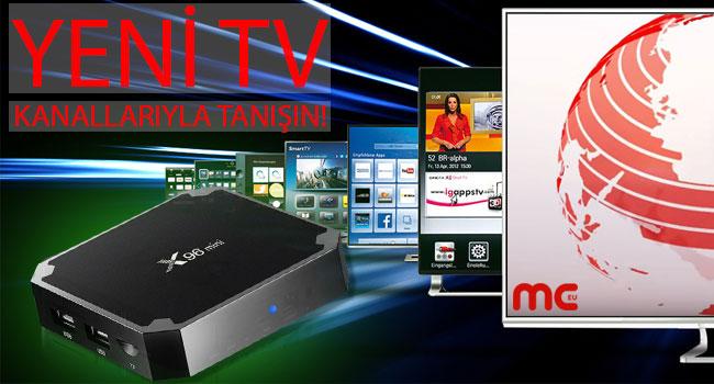 Yeni TV kanalları ile tanışın!