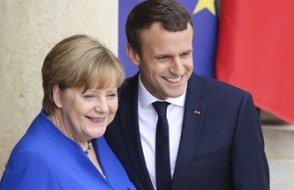 Merkel ve Macron anlaştı: Yeni sayfa açıyoruz