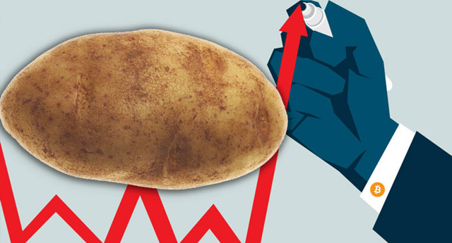Bir tane patates 1 TL oldu!