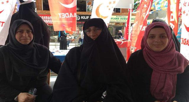 Saadet Partili kadınlar: İslamiyet bitmiş, 'Tayyibizm' başlamış, bize kafir diyorlar