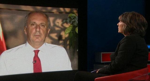 Muharrem İnce CNN International'e konuştu