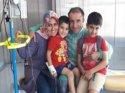 Yunanistan'da hastalanan Nail babası ile kavuştu....
