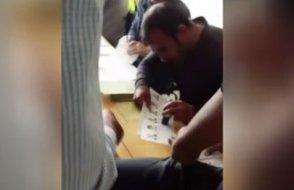 Erzurum'da skandal görüntü