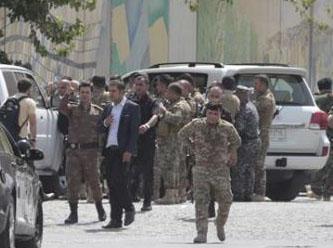 Erbil'de valilik binasında silah sesleri