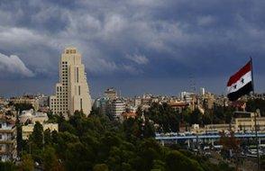 Şam çevresindeki dükkanlar yeniden açılmaya başladı