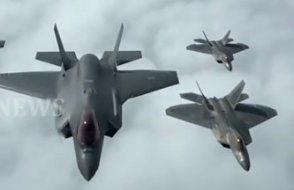 F-35 ve F-22 jetlerinin it dalaşı simülasyonu yayınlandı