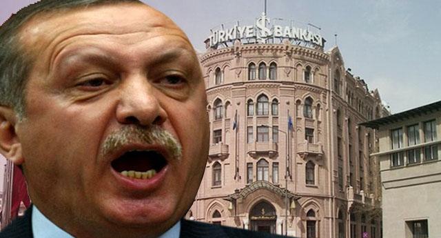 Erdoğan İş Bankası'na çökmekte kararlı : 'CHP'nin direnmesi netice vermez'