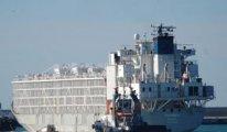 Şarbonlu hayvan taşıyor denen gemi çoktan yükünü Bandırma'ya indirip gitmiş