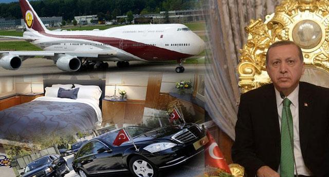 Tasarruf iddiası sözde kaldı ... Paralar Makam araçlarından, 'uçan saray'lara...