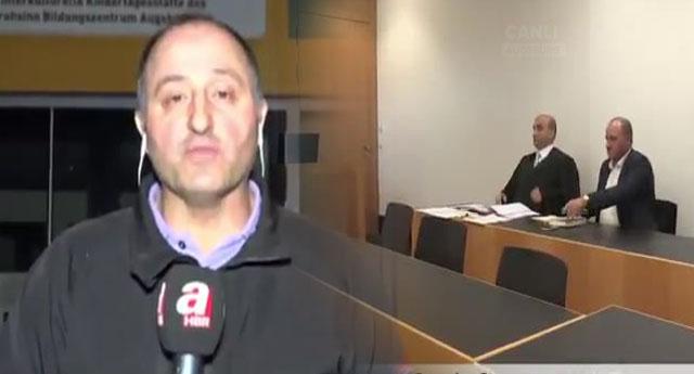 Almanya'da kreş önünde 'Burada terörist yetiştiriliyor' diyen A Haber Muhabirine ceza