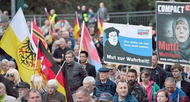 Almanya'daki yabancılar için tehlike çanları... AFD İkinci parti oldu