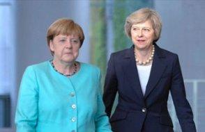 Merkel, İngiliz Başbakanı görmezden geldi