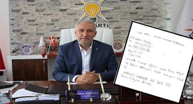 Torpil isteği AKP yerine CHP'ye gidince yakalandı!