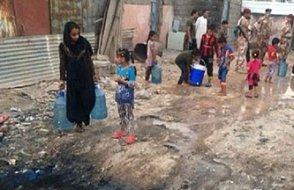 Rekor... Irak Basra'da 111 bin kişi sulardan zehirlendi