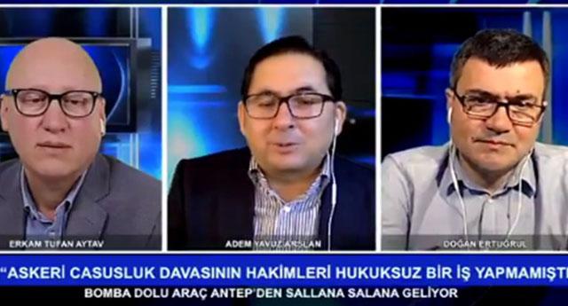 Adem Yavuz Arslan : Askeri casusluk delilleri ortaya çıkmasın diye HSK soruşturma izni vermedi