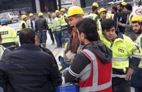 Açılışa 1 hafta kala  işçiler maaşlarını alamadıkları gerekçesiyle iş bıraktı...