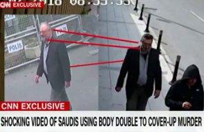 Kaşıkçı'nın kıyafetlerini giyip İstanbul'da gezen Suudi'nin görüntüsünü CNN yayınladı