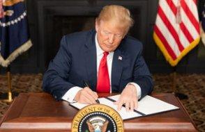 Trump Türkiye'yi de sayarak açıkladı: Artık muafiyet bitti