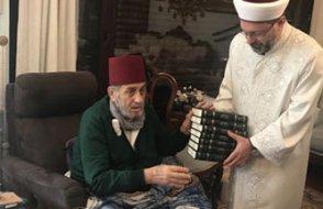 Meczup yazar, ayağına gelen DİB Erbaş'ı övdü: Şeyhülislam ziyaretime gelmiş...
