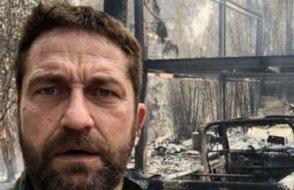 California'da çıkan orman yangınında birçok ünlü evini kaybetti