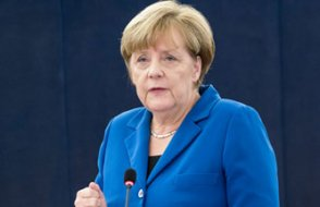 Merkel: Alman ekonomisi 'sert bir Brexit' için çok iyi hazırlandı
