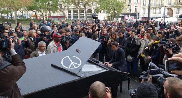 Gezi'de piyano çalan adam konuştu, İddialar saçmalık