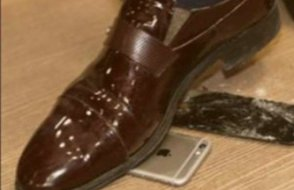 Aslında iPhone kırmamış, demosunu kırmış...