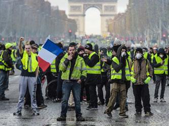 Fransada sarı yelek satışları patladı 53