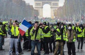 Sarı Yelekliler: Eylemcilerin sayısı yarıya düştü
