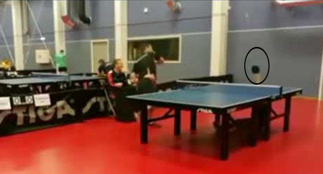 15 yaşındaki genç masa tenisi maçında inanılmazı başardı!