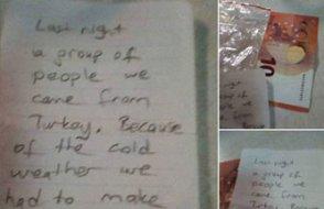 Yunanistan'da yaktıkları odunun parasını bırakan muhacir Türkler konuştu