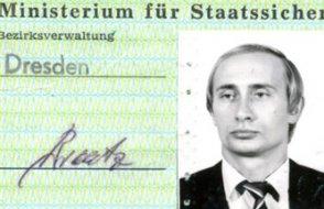 Rusya Devlet Başkanı Putin'in ajanlık kimliği Almanya'da bulundu