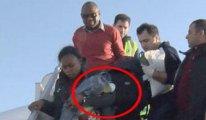 THY uçağında hareketli anlar... 13 bin metrede doğurdu