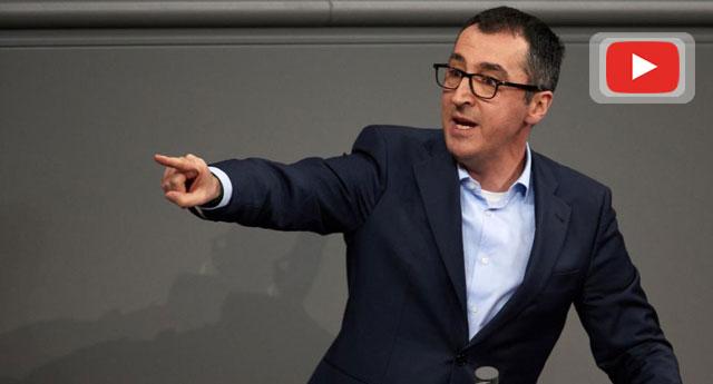 Özdemir'in AFD karşıtı ateşli sözleri Almanya'da yılın konuşması seçildi