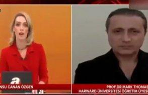 A Haber vatandaşı trolledi: Ekrana sahte Amerikalı profesör çıkardı